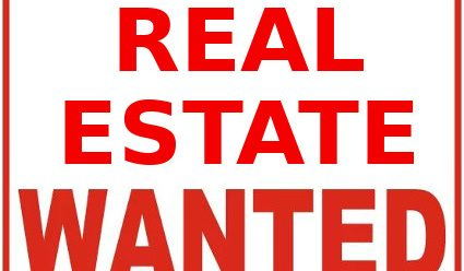 Real Estate Wanted